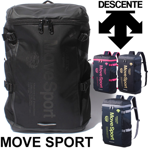 Descente Descent Backpack Bag Square Sport Mens Uni Move Sports Dac8623