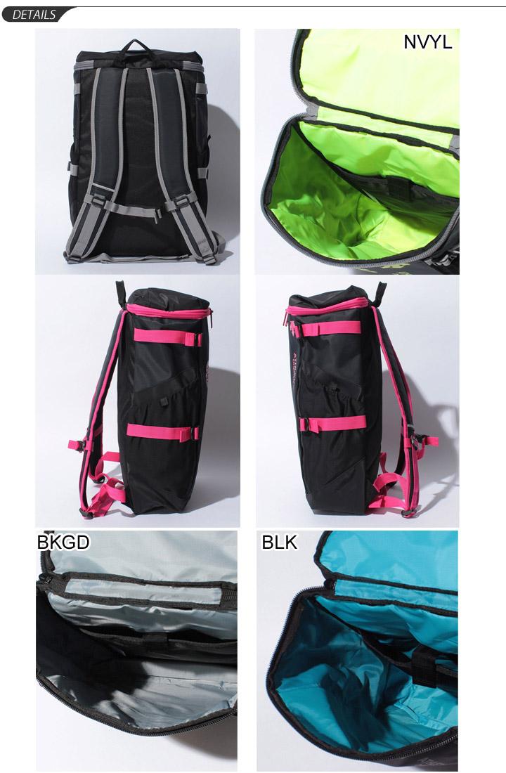 Descente DESCENT backpack bag square sport bag mens unisex backpack Move Sports /DAC8623