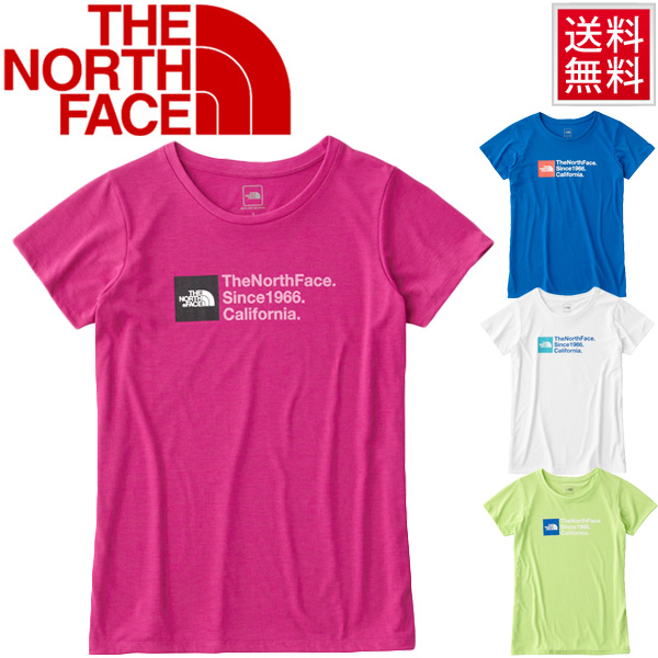 e23bf1a2c THE NORTH FACE women's running shirt north face short sleeve T shirt TNF  square logo Tee for women gym outdoor casual UV care /NTW31663
