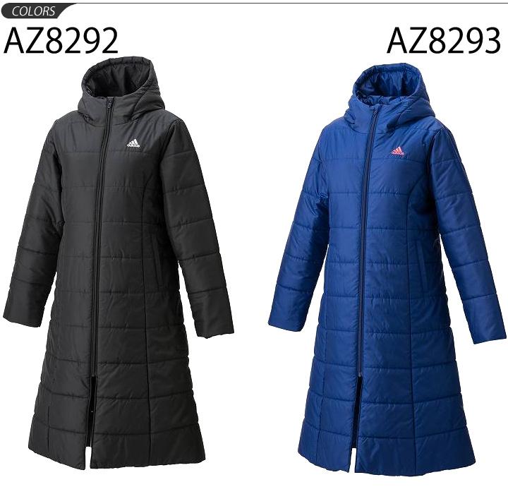 c81e98850 Adidas Ladies padded long coat adidas outerwear women winter windproof  lightweight long-length sports training casual /BVV96