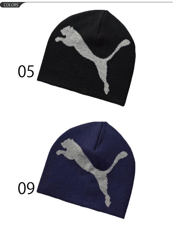 PUMA Beanie PUMA caps men s knit hats winter winter accessory Hat male big  cat logo essential Beanie casual unisex  puma052925 74e330920