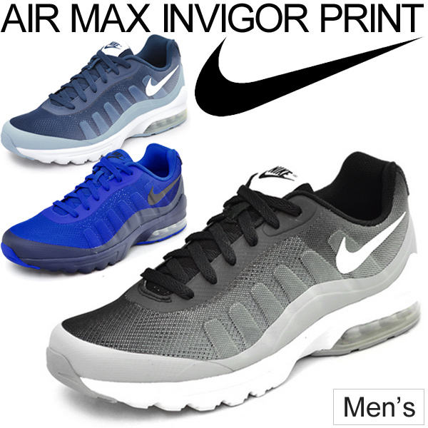 purchase cheap 1f348 78dff Sneakers Nike NIKE men s Air Max in bigger print shoes air max shoes AIR  MAX INVIGOR PRINT 749688
