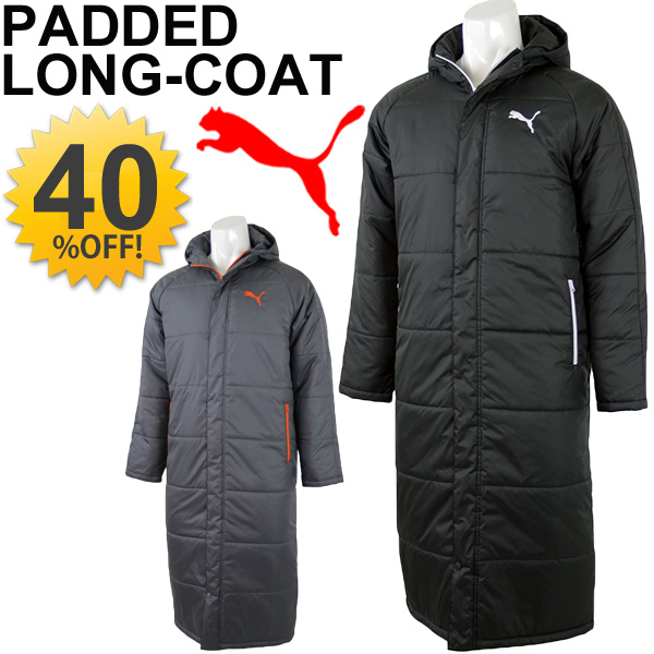 ef6fefbb2 PUMA cotton coat men's coat PUMA bench coat a bench warmer winter cold  weather wear protection ...
