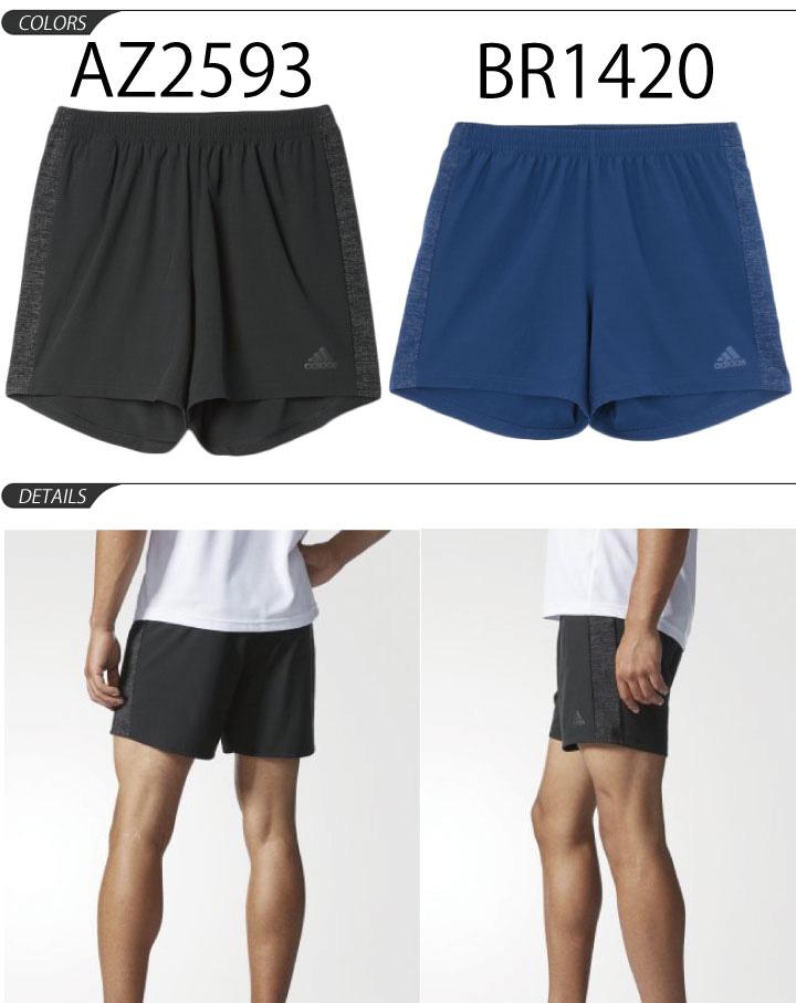 Running shorts Adidas adidas Snova S nova men shorts short pants marathon jogging training gym man shorts 5 inches 7 インチスポーツウェアクライマライト /BWA52