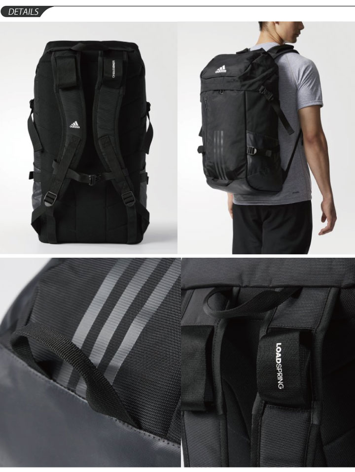 Backpack Adidas adidas rucksack day pack 40LL sports bag training men gap  Dis gym camp club activities traveling bag bag  DMD04 a937227f01b62
