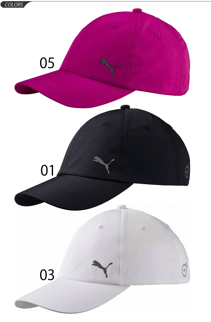 PUMA PUMA Cap Hat caps sports mens unisex CAP and running jogging Marathon  walking plain white  puma052908 e8f668f4967