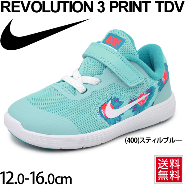 3bbee9dc84 WORLD WIDE MARKET: Child girls Velcro sports shoes /870048 of the baby  shoes Nike NIKE revolution 3 print TDV kids sneakers child shoes  12.0-16.0cm infant ...