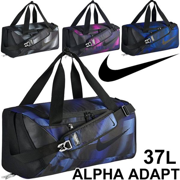 Nike Training Duffel Bag Small Size NIKE Alpha Adapt Crossbody Graphic Sports Boston Gym