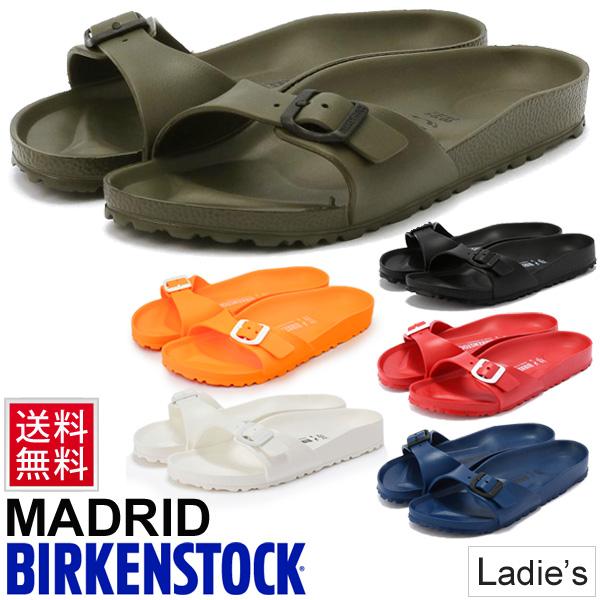 1be45e85b8f Birkenstock Sandals Madrid vilken BIRKENSTOCK MADRID genuine EVA men s  women s wide narrow narrows staple lightweight bottle belt women leisure  camp fest ...