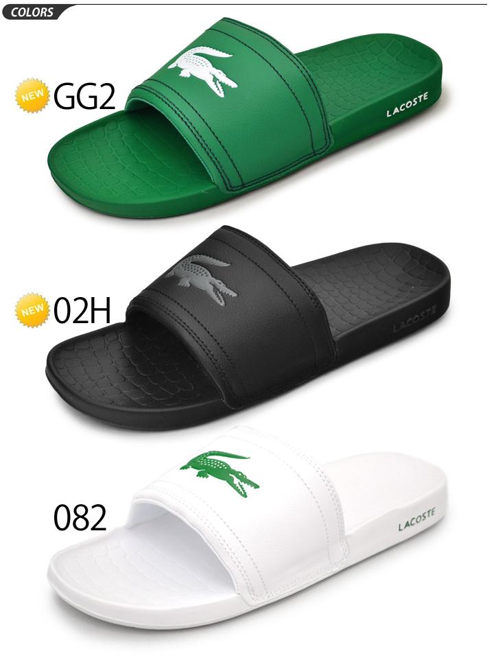 915a2f374 WORLD WIDE MARKET  Shower sandals men Lacoste LACOSTE shower sandals ...