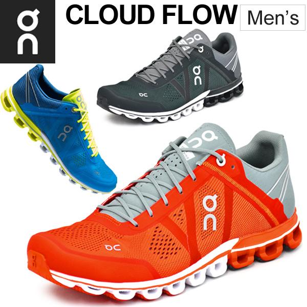 ランニングシューズ メンズ オン on クラウドフロー CloudFlow ランニング マラソン レース ジョギング トレーニング スニーカー ランニング 靴 男性用 メッシュ/rP10/154247M
