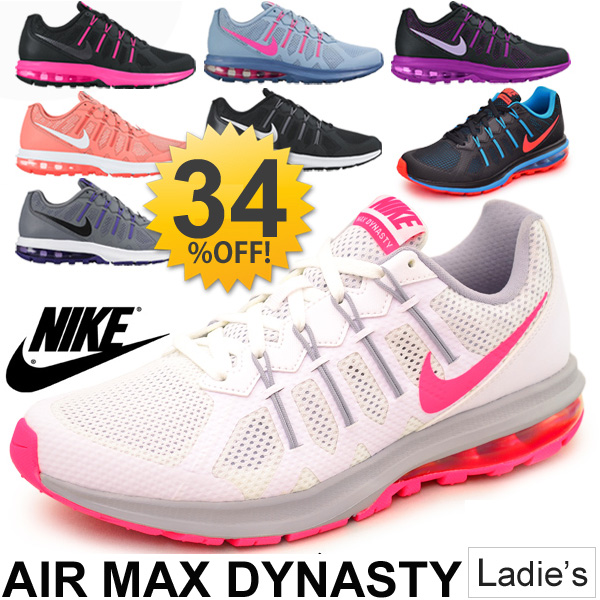 Nike NIKE / Womens Sneakers Shoes Air Max Dinesh tea air MAX / training  jogging / women's women's shoes / 819154
