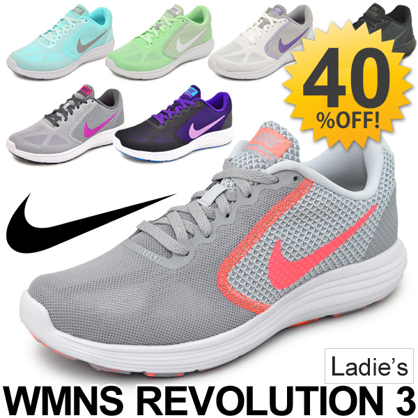 Nike NIKE / women's sneaker women's revolution 3 / shoes / women's women's  shoes / running / jogging / workout / 819303