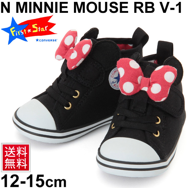 ffd7e98191bb Child child Converse converse Minnie Mouse RB V-1 BABY ALL STAR N MINNIE  MOUSE RB V-1 Disney character shoes child shoes 12.0-15.0cm sports shoes  shoes ...