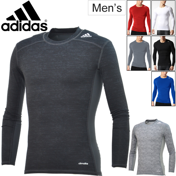 d19fa621b1f0b Adidas adidas   men s tech fit long sleeve t-shirt compression underwear  inner TECHFIT training gym football men
