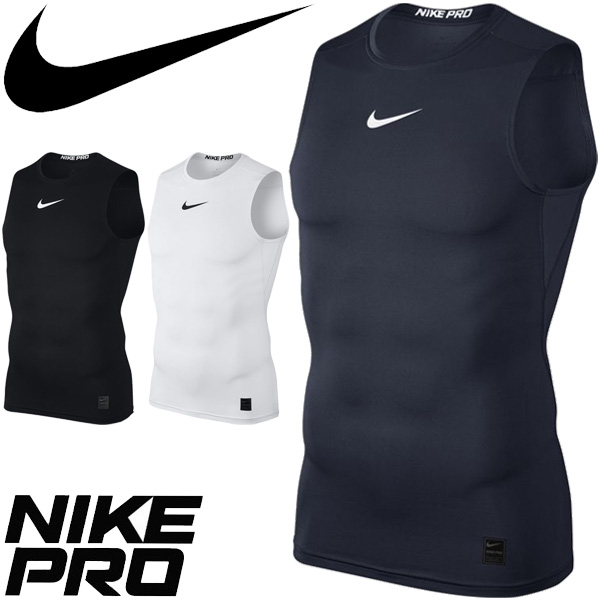 Underwear inner shirt padded vest training tops sportswear  838086 for the compression  shirt no sleeve men   Nike pro NIKE PRO man ecd177713db2