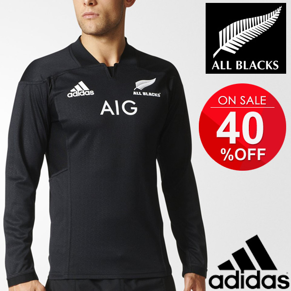 435e14ac93a Adidas men's all blacks adidas adidas ALL BLACKS shirt long sleeve Rugby  sports training rugby shirts ...