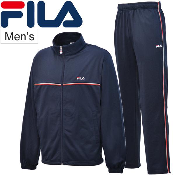 ef968ea2 Jersey top and bottom set men Fila FILA truck jacket long underwear back  raising man tennis running training usual times errand sportswear /FM4390-3
