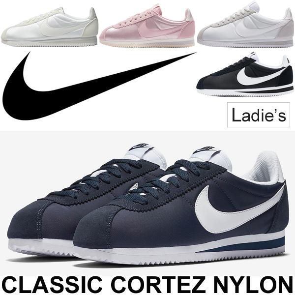 Nike NIKE sneakers Womens running shoes and classic Cortez nylon / retro  running reprint women and women's CLASSIC CORTEZ nklon/749864