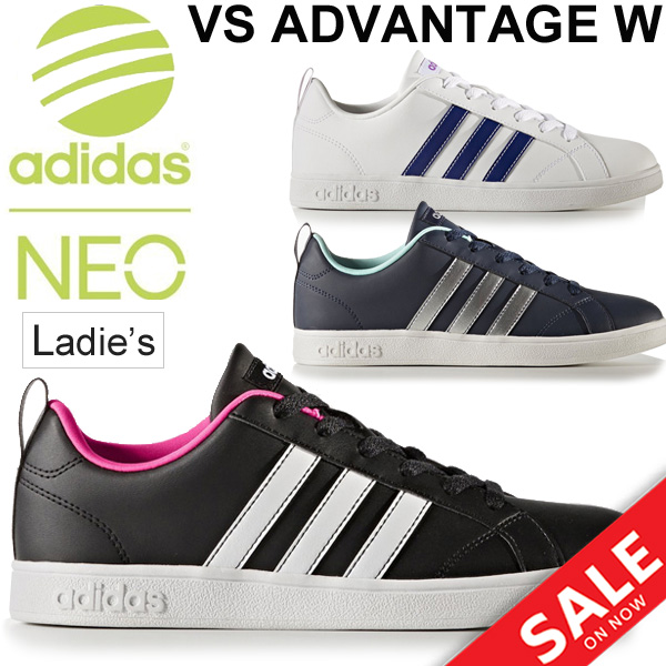 half off 1a7a2 a966a ... BB9620 BB9622 BB9623 coat-style white black navy casual shoes shoes   VALSTRIPES2-SLW for the Adidas sneakers Lady s adidas neo VS ADVANTAGE W  woman