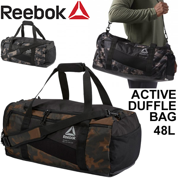 Boston bag men gap Dis   Reebok Reebok active camouflage duffel back   sports  bag 48L training gym traveling bag bag  ECK77 33b9b223c4