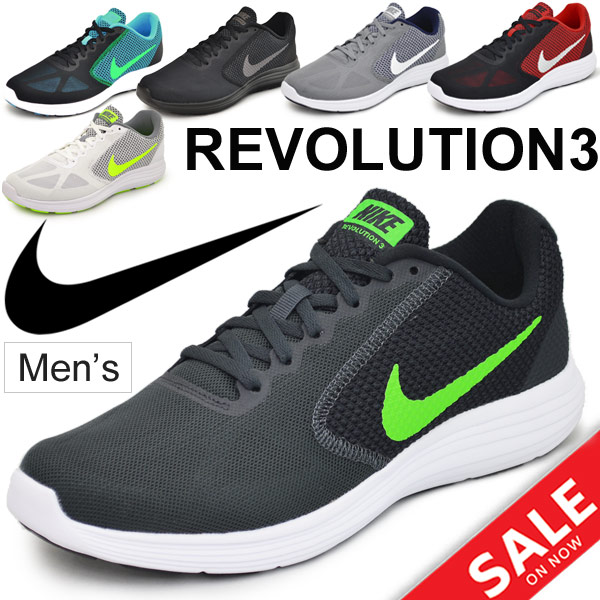 Sports shoes /NIKE819300 for the running shoes men / Nike NIKE / revolution  3 jogathon walking sneakers gentleman shoes man