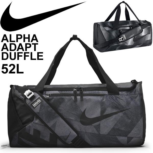 Nike duffel bag NIKE alpha adapt graphic medium size 52L sports bag Boston bag  gym club activities game camp gym trip  BA5179 7964a75e75153