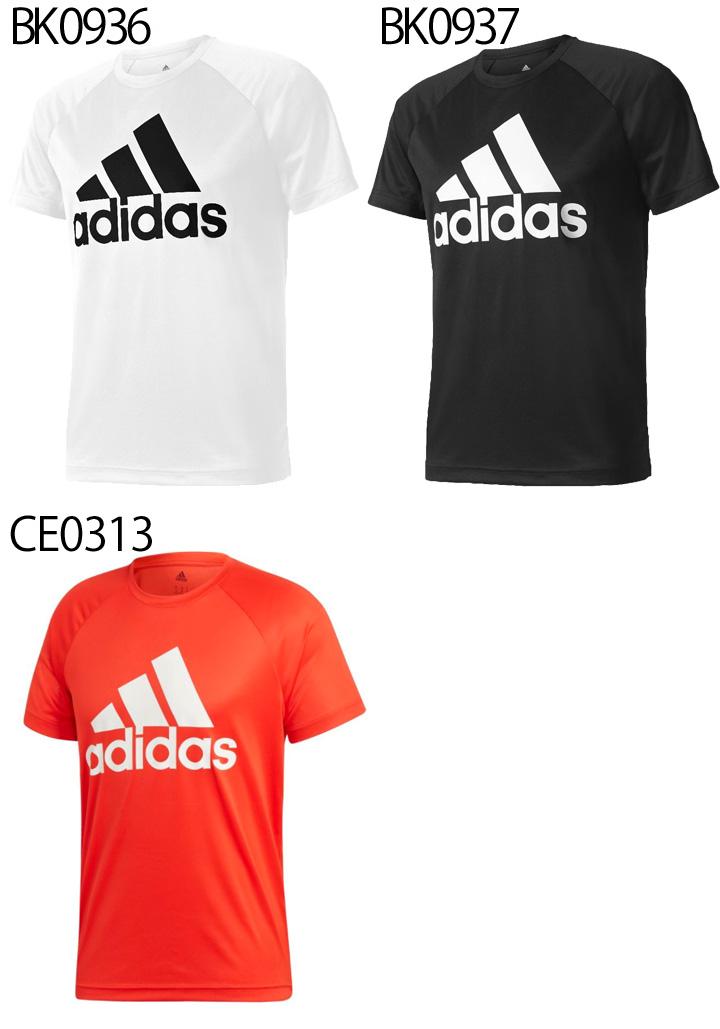 buy popular fbc35 652fb T-shirt Adidas men short sleeves shirt adidas D2M training big logo logo T  training sports casual wear man tops  BUM28