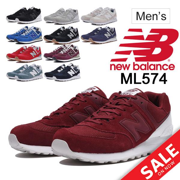site réputé 7d0a5 5dfa6 Sports casual shoes sports shoes regular article /NB-ML574- for the men's  shoes men New Balance newbalance ML574 sneakers D width low-frequency cut  ...