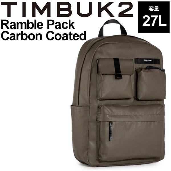 バックパック ティンバック2 TIMBUK2 ランブルパック カーボンコーテッド OSサイズ 27L/リュックサック B4サイズ対応 カジュアル 鞄 正規品/154233883【取寄】