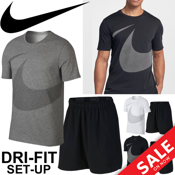 high quality price reduced run shoes Short-sleeved T-shirt half underwear two points set men / Nike NIKE  training suit man running gym marathon jogging sportswear /890189-833272
