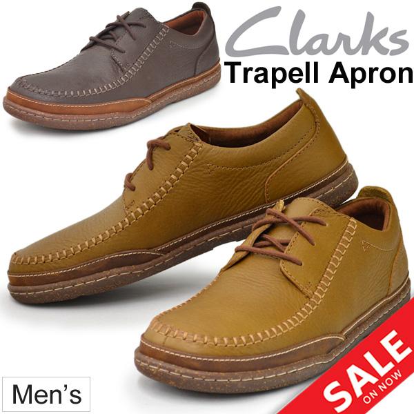 verschiedene Farben Billiger Preis Rabatt bis zu 60% Leather sneakers men zouk Lark's Clarks TRAPELL APRON man カジュア gentleman  shoes トラペルエプロン genuine leather casual shoes regular article  26128155/26128680 ...