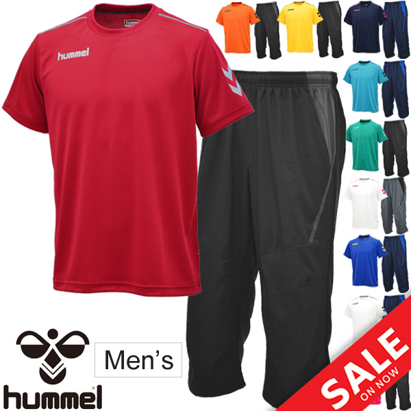 nowy styl podgląd przyjazd Arrival at short-sleeved T-shirt cropped pants two points set men / Hyun  Mel hummel training suit short sleeves shirt seven minutes length underwear  ...