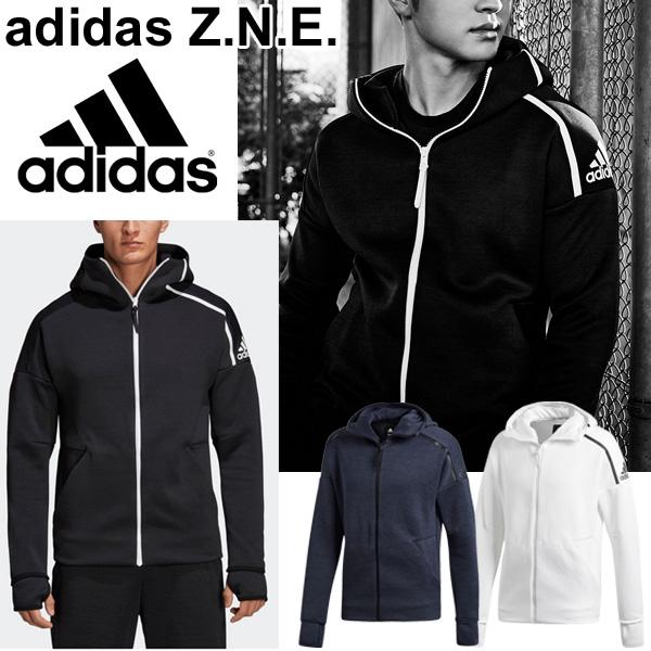 ジャージ パーカー ジャケット メンズ/adidas アディダス Z.N.E. フーディー ファストリリース/スポーツウェア 男性用 アウター スウェット 上着 ゼットエヌイー/EVT16
