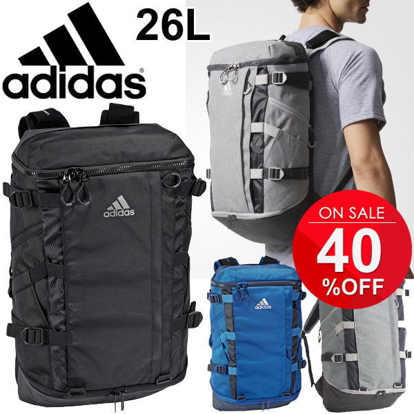 Backpack Adidas adidas OPS rucksack day pack 26L sports bag training tall  handloom ability back men unisex gym camp club activities commuting school  bag bag ... 73f2708a75fb3