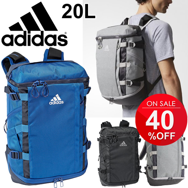 Backpack Adidas adidas OPS rucksack day pack 20L sports bag training tall  handloom ability back men unisex gym camp club activities commuting school bag  bag ... 4e211da519963