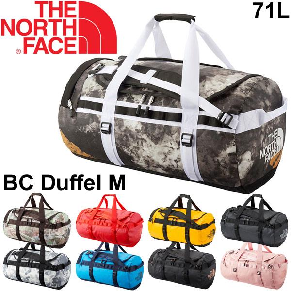 ダッフルバッグ THE NORTH FACE ベースキャンプ ノースフェイス BCシリーズ ボストンバッグ Mサイズ 71L バックパック アウトドア メンズ レディース かばん 旅行 トラベル 出張 鞄/ NM81814