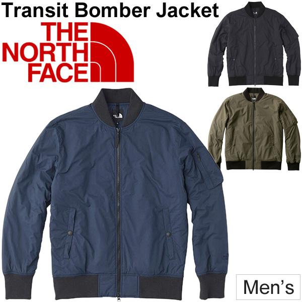 中わたブルゾン MA-1タイプ メンズ THE NORTH FACE ノースフェイス トランジット ボンバー ジャケット/防寒ウェア 男性 アウター ジャンバー カジュアル 上着 寒さ対策/NY81862