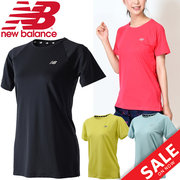 37e82c32ca3ef Tops sportswear /JWTR8626 for the short-sleeved T-shirt Lady's new balance  New