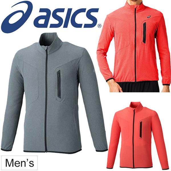 asics running jacket mens