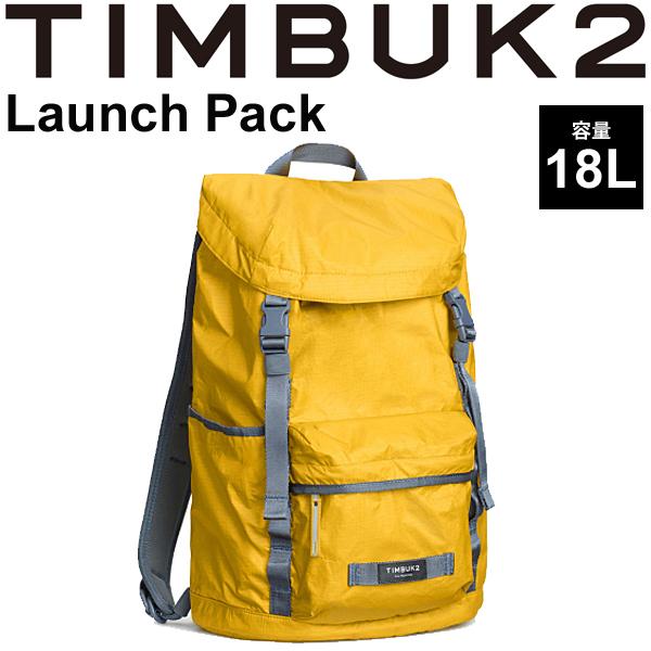 バックパック TIMBUK2 ローンチパック Launch Pack ティンバック2 OSサイズ 18L/リュックサック 雨蓋 トップローディング式 ザック デイパック 鞄 正規品/853235894【取寄】