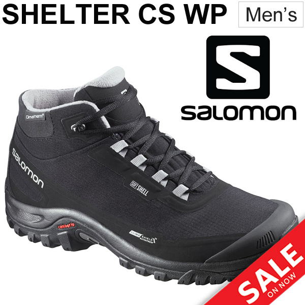 5c3170c9 Winter shoes men / Salomon SALOMON SHELTER CS WP mid cut boots cold  protection anti-slipping waterproofing casual business commuting recreation  ...
