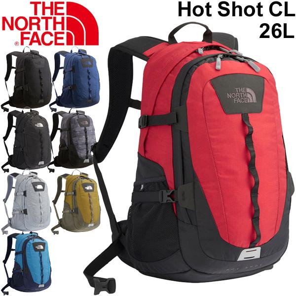 バックパック メンズ レディース THE NORTH FACE ザノースフェイス ホットショット クラシック Hot Shot CLL 26L/リュックサック デイパック アウトドア 普段使い 通勤 通学 定番 多機能 鞄 かばん/ NM71862