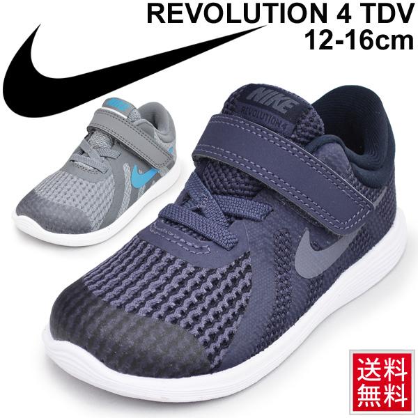 153d07d6fd401 Child child  NIKE Nike revolution 4 TDV  child shoes 12.0-16.0cm REVOLUTION  4 boy girl シューズベルクロインファントシューズ  943304 of the baby kids ...