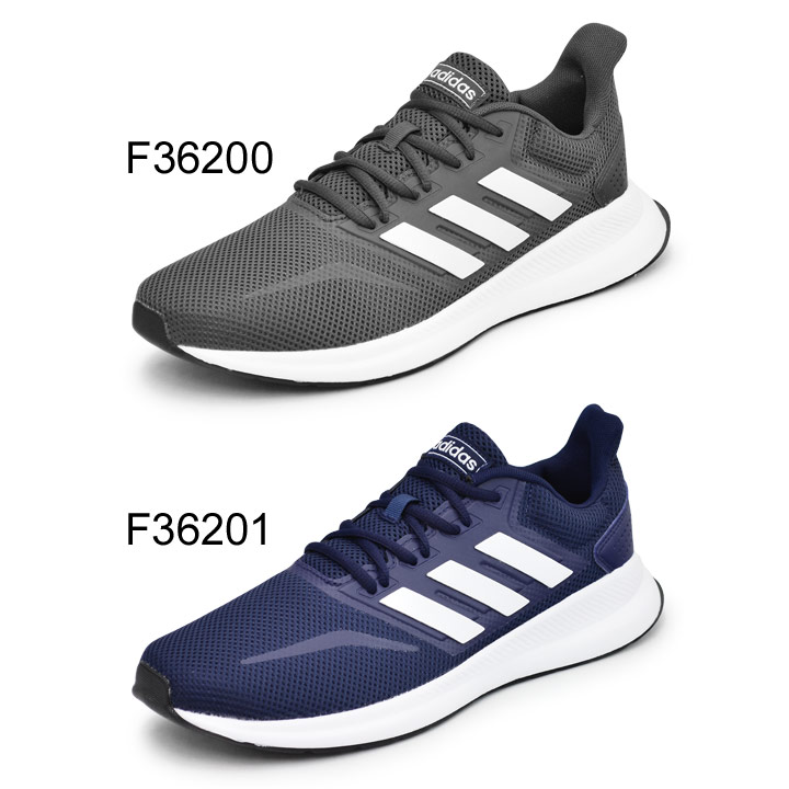 2E considerable sports casual sneakers walking sports shoes FalconRun M for the running shoes men Adidas adidas falcon orchid M FALCONRUN M jogging