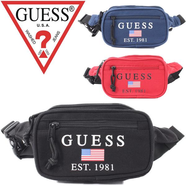 ウエストポーチ ウエストバッグ ゲス GUESS ヒップバッグ メンズ レディース 鞄 ボディバッグ ポーチ カジュアル アメカジ 男女兼用 おしゃれ かばん /M93Z45WBWJ0
