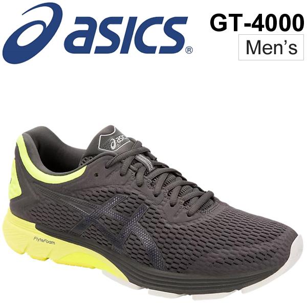 ランニングシューズ メンズ asics アシックス GT-4000/ジョギング マラソン 長距離レース ウルトラマラソン トレーニング 陸上 男性用 スニーカー 靴/
