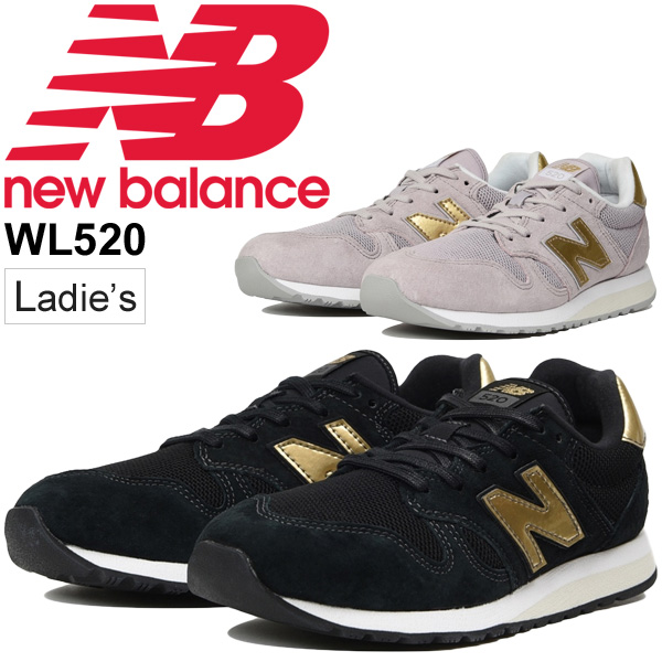 1f5bd45eb0 Sneakers Lady's shoes newbalance New Balance 520/ low-frequency cut sports  casual B width slim N logo cute fashion shoes スポカジ /WL520-NB for ...