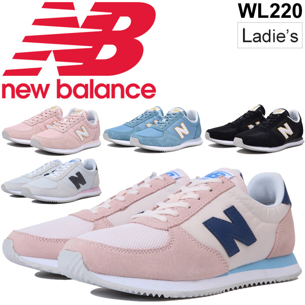 05f76e3721 Sneakers Lady's shoes newbalance New Balance 220/ low-frequency cut sports  casual D width retrorunning quilting cute 70s taste shoes /WL220-NB for ...