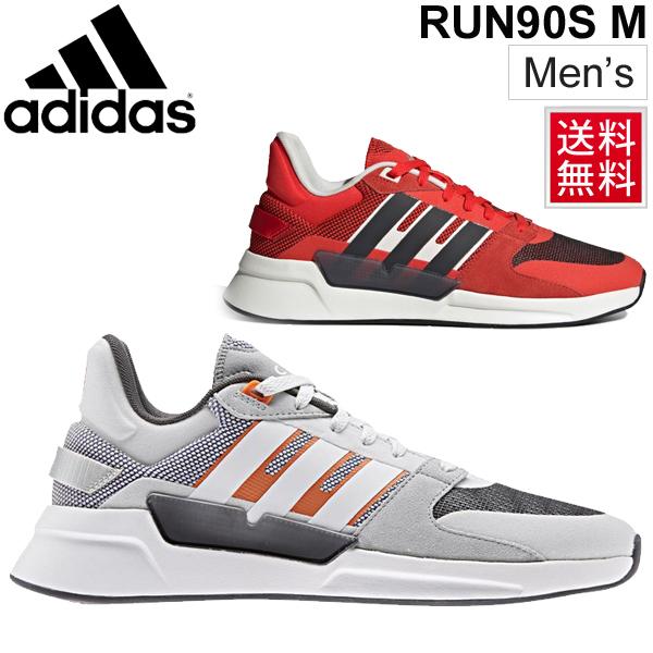 ランニングシューズ メンズ アディダス adidas RUN90S M スポーツシューズ ジョギング フィットネスラン トレーニング 男性 スニーカー 普段履き ローカット 運動靴 くつ/EPH05